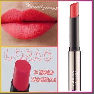 LORAC Lip Luxe 8 Hour* Lip Color. Scarlet